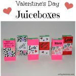 Valentine's Day Juiceboxes for Kids Party