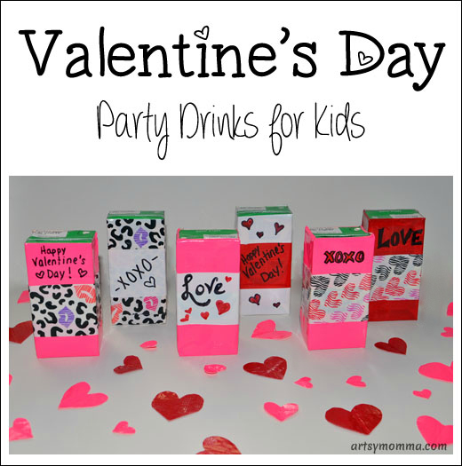 How to make fun Valentine's Day Party Drinks for Kids