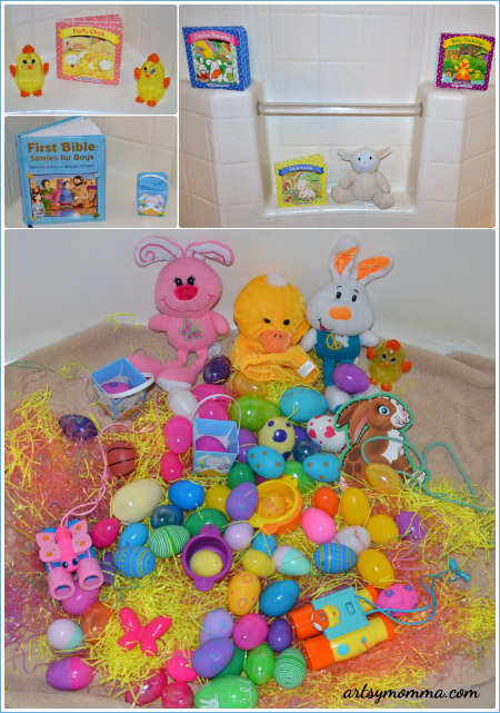 Easter Story and Sensory Play Activity
