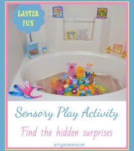 Fun Easter Sensory Play Activity & Cute Books