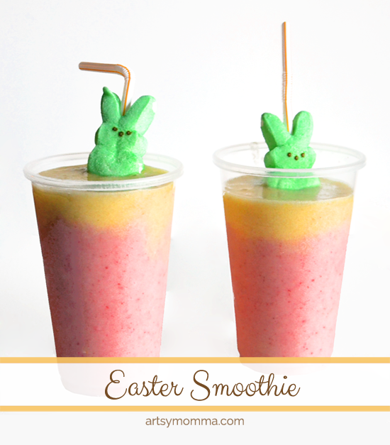 Colorful Easter Smoothie Recipe for Kids