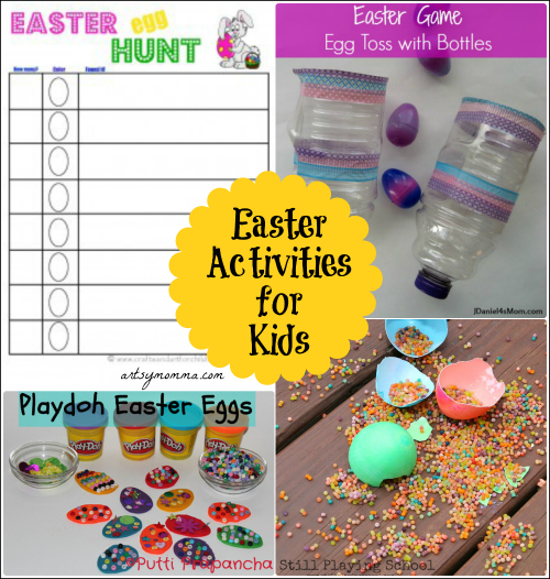 Easter Activities for Kids playdate or party