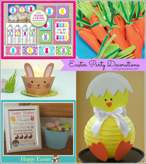 Easter Party Decorations, Crafts, & Fun Food Ideas