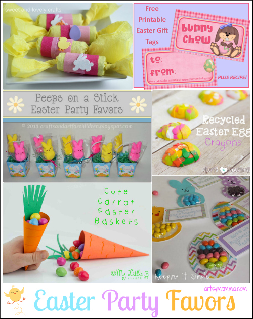 Ideas for hosting an easter party or playdate for kids artsy momma easter party favors for kids negle Choice Image