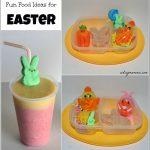 Creative Easter Fun Food Idea and Smoothie Fun!