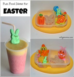 Creative Easter Fun Food Idea and Smoothie Fun!