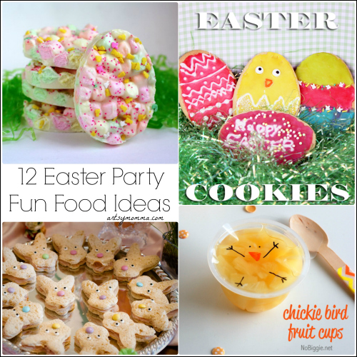 Fun Food Ideas for a Kids Easter Party or with a Playgroup
