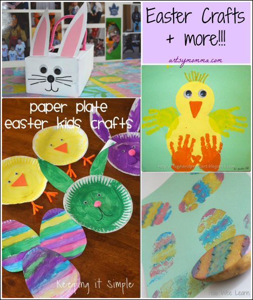 Kids Easter Crafts and Party Ideas