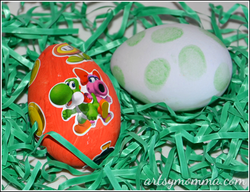 Super Mario & Yoshi Inspired Easter Eggs
