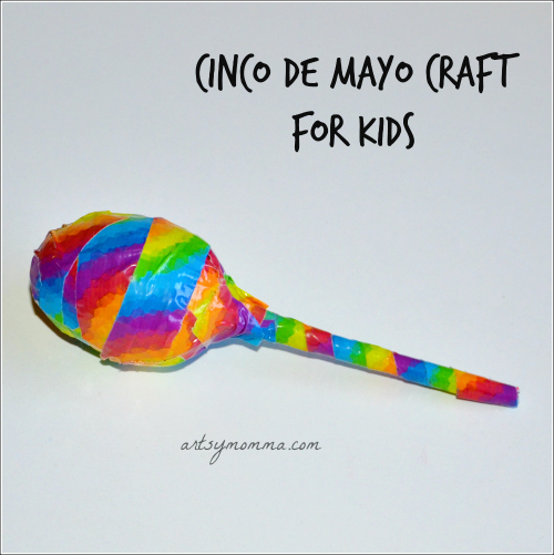 How to make a Homamde Maraca {Recycled Craft}