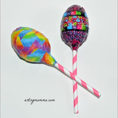 Homemade Maracas – Recycled Craft for Cinco de Mayo