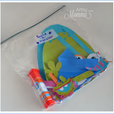 Busy Bags for Crafting On-the-Go