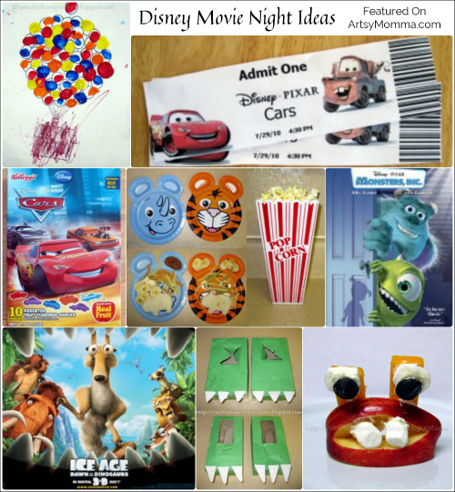 Disney Family Movie Night Ideas