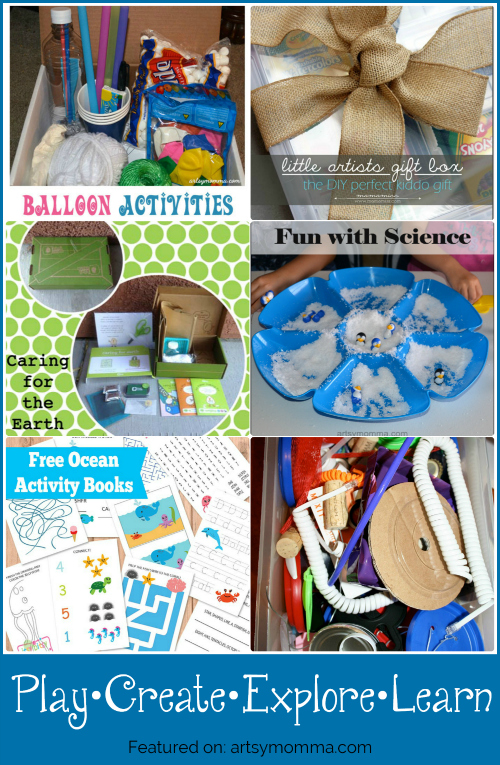 Play, Create, Explore, and Learn with Activity Kits this Summer