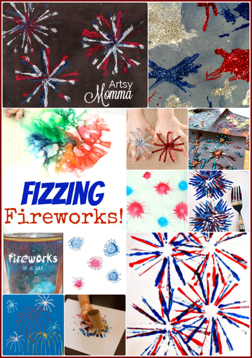 20 Fireworks Crafts for Kids