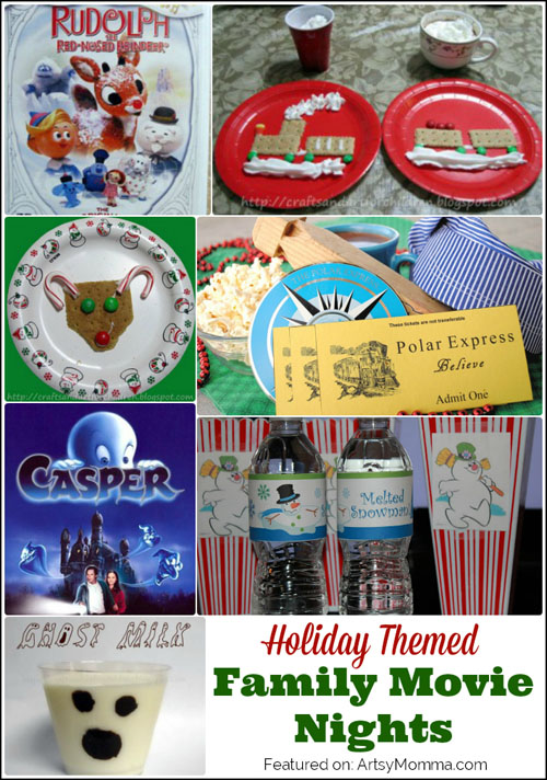 Holiday Themed Family Movie Nights