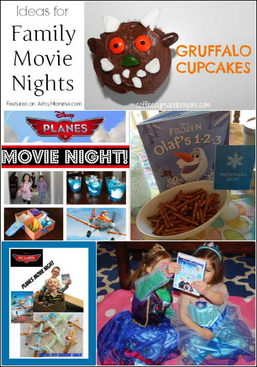 Tons of Ideas for a Family Movie Nights