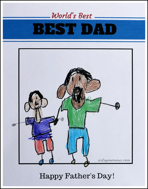 World's Best Dad - Free Printable for Father's Day