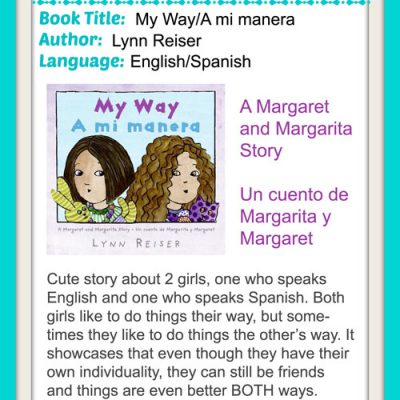 Spanglish Books for Kids: Margaret and Margarita Book Series