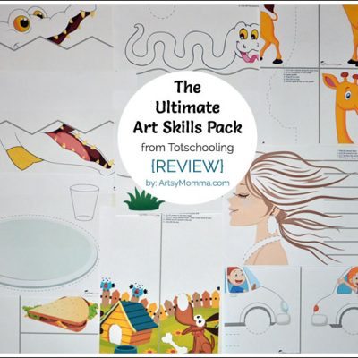 The Ultimate Art Skills Activity Pack – Scissor Skills + more!