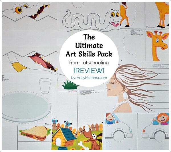 The Ultimate Art Skills Activity Pack – Scissor Skills + more!