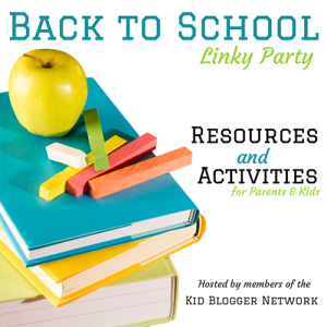 Back to School Resources and Activities + Giveaway & Link Party