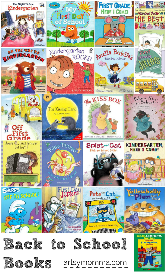 Back to School Books for Kindergarten and 1st Grade