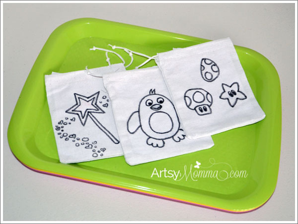 Back to School Craft for Kids - DIY Snack Bags
