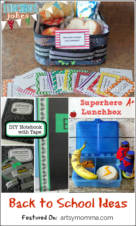 Back to School Ideas for Kids | Bewitchin' Projects Features