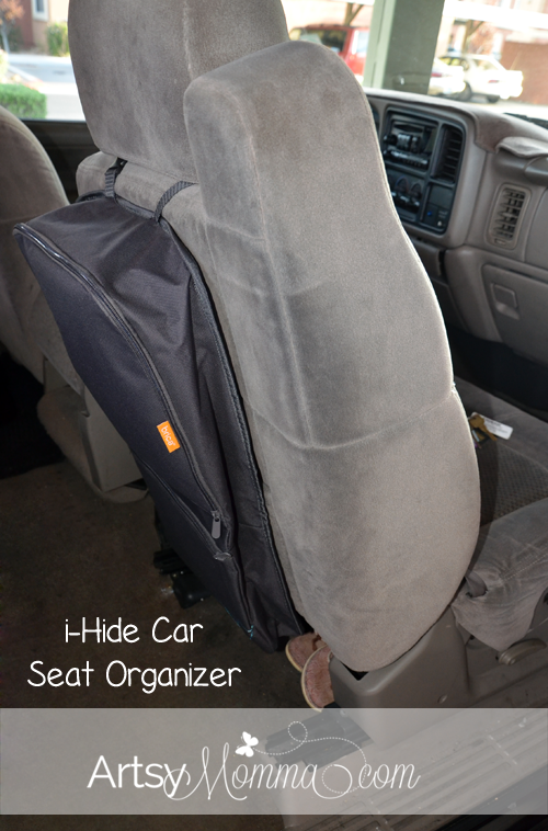 Brica i-Hide Car Seat Organizer for Road Trips