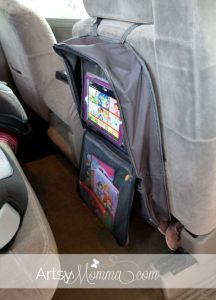 Brica i-Hide Car Seat Organizer with Tablet Viewer Review