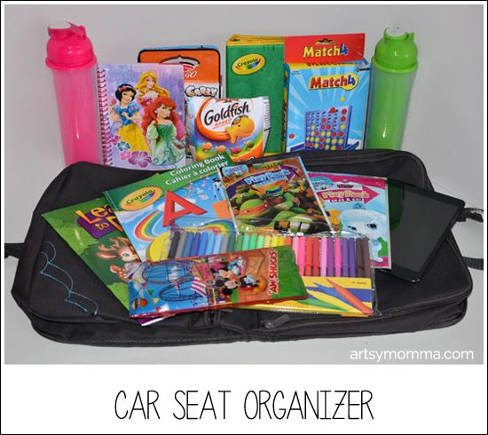 Brica i-Hide Car Seat Organizer