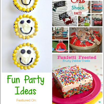 Fun Party Ideas | Bewitchin' Projects Link Party