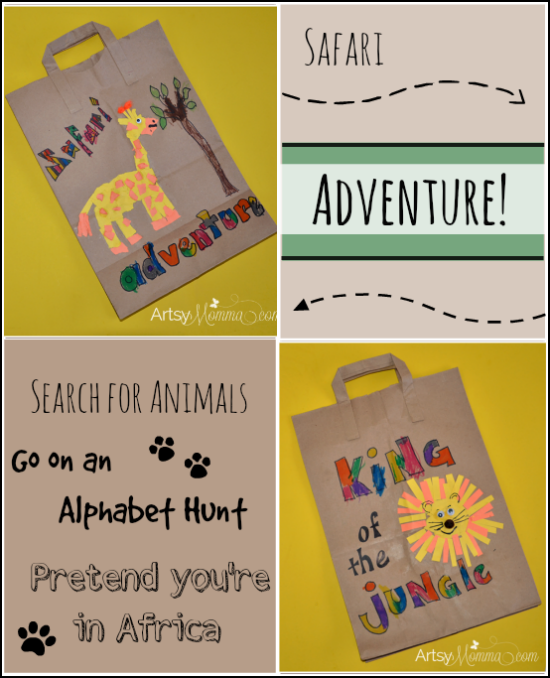 Safari Craft and Activities for kids