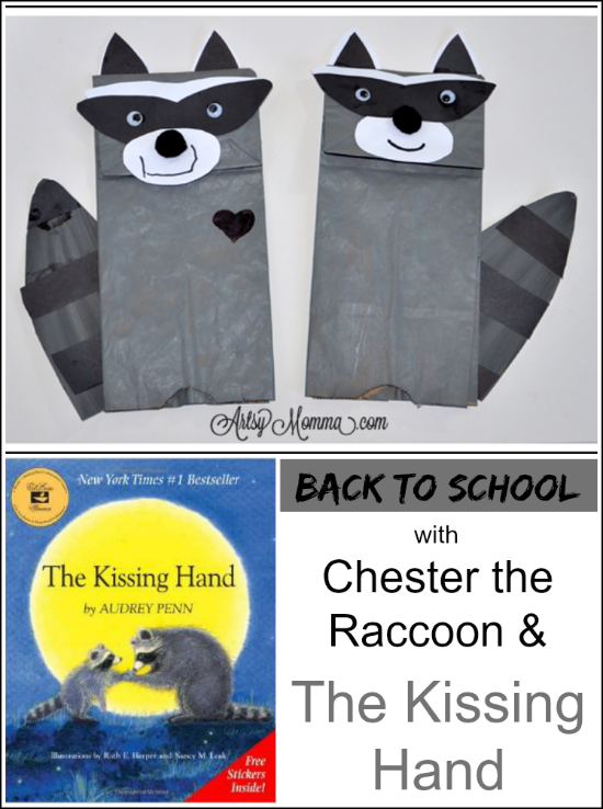 The Kissing Hand | Chester the Raccoon Craft | Back to School