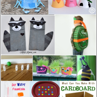 Recycled Crafts for Kids   Bewitchin' Projects Link Party 8/31