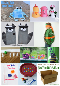 Upcycled - Recycled Crafts for Kids
