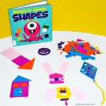 Build-a-shape Busy Bag for Preschoolers