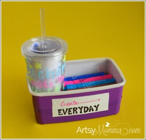 DIY School Supply Teacher Gift