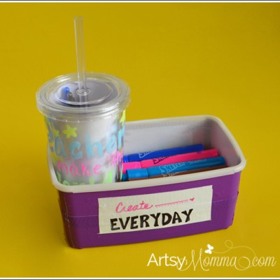 DIY School Supply Teacher Gifts