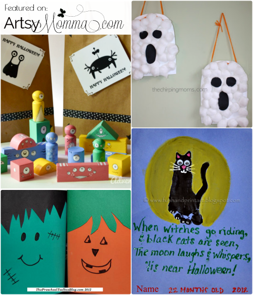 Scary Kids Halloween Crafts