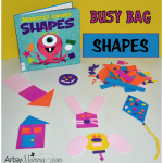 Shapes Busy Bag Activity for Preschoolers
