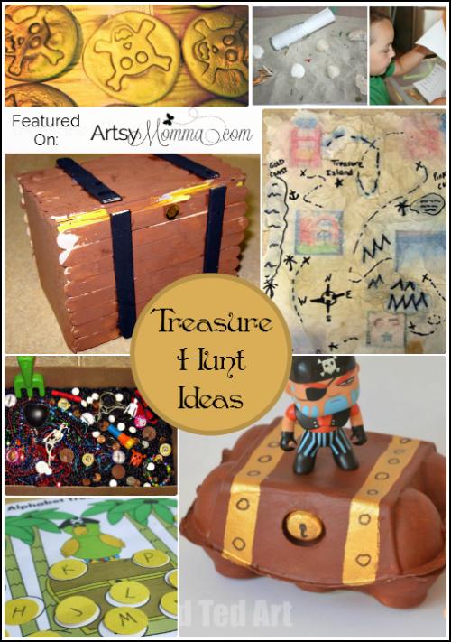 Treasure Hunt Ideas for Talk Like a Pirate Day