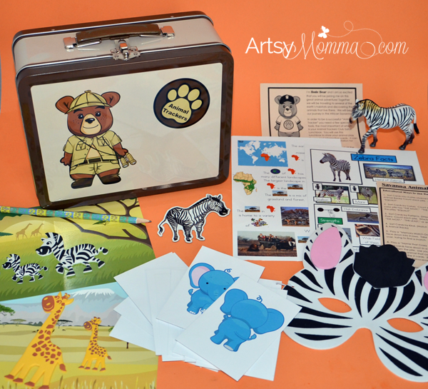 Animal Trackers Monthly Subscription Learning Kits