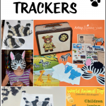 World Animal Day Crafts & Activities {Fun with Animal Trackers Kits}