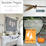 DIY Halloween Decor | Bewitchin' Projects Linky