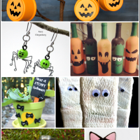 Halloween Activities & DIY Projects {Bewitchin' Projects Linky}
