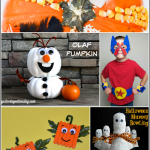 Fun Halloween Crafts for Kids {Bewitchin' Projects Linky}
