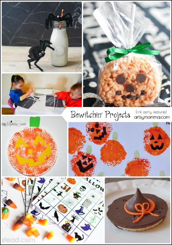 Last Minute Halloween Activities and Snacks