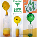 M is for Monster Preschool Activities: Monster Math & Science Experiment
